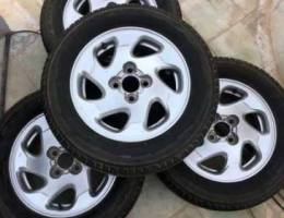 14inch 4pc Rims Nissan Sunny 35rial