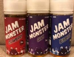 jam monster 120ml