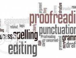 Thesis & Research Paper Proofreading,