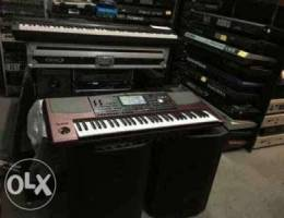 Korg Pa1000 keyboard 61 keys