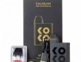 For sale koko caliburn vape black with 2 p...