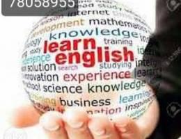 دورة تدريبية في اللغة الإنجليزية لطلاب الث...