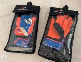 2 pairs of Goalkeeper Gloves Junior