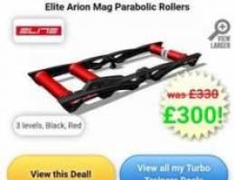 Elite Arion Magnetic Parabolic bike roller