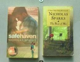 Nicholas Sparks Books ( safe haven, the be...
