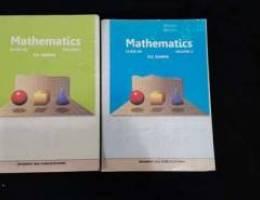 R.D.SHARMA mathematics guide part 1 and 2