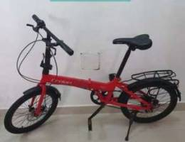 Crolan Folding bike 7speed