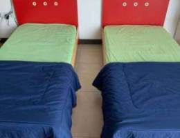 2 single beds 90* 180