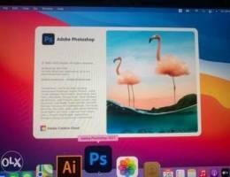 Apple Mac's Apps Adobe Photoshop, Design, ...