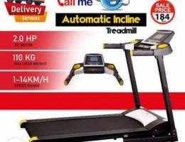 Royal Sports Automatic Incline Treadmill O...