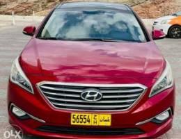 Hyundai Sonata 2015 Top of Range (Oman Car...