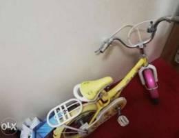 Used kid's bicycle