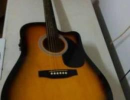 Fender squier electro acoustic guitar