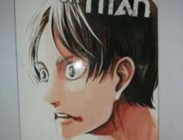 Manga attack on titans volume 15 /مانجا ال...