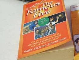 The famous 5 book only.