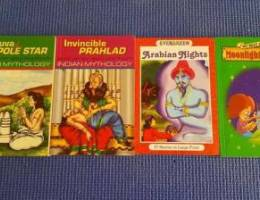 Indian mythology stories, Arabian nights, ...