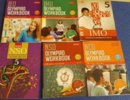Olympiad workbooks varied 6nos