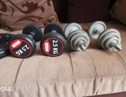 New Dumbles and plates