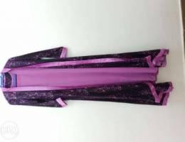Maxi/long dress. Coat style