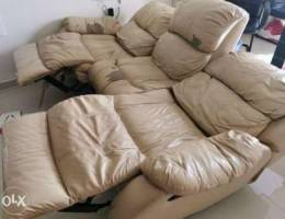 Home Centre Soft Synthetic Leather... Recl...