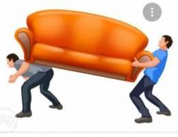 Furniture sofa mov,ing