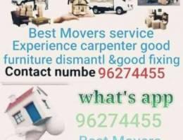 Best moving services Best carpenter gfb