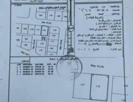للبيع ارض سكنية ممتازة في بركاء العقدة جنو...